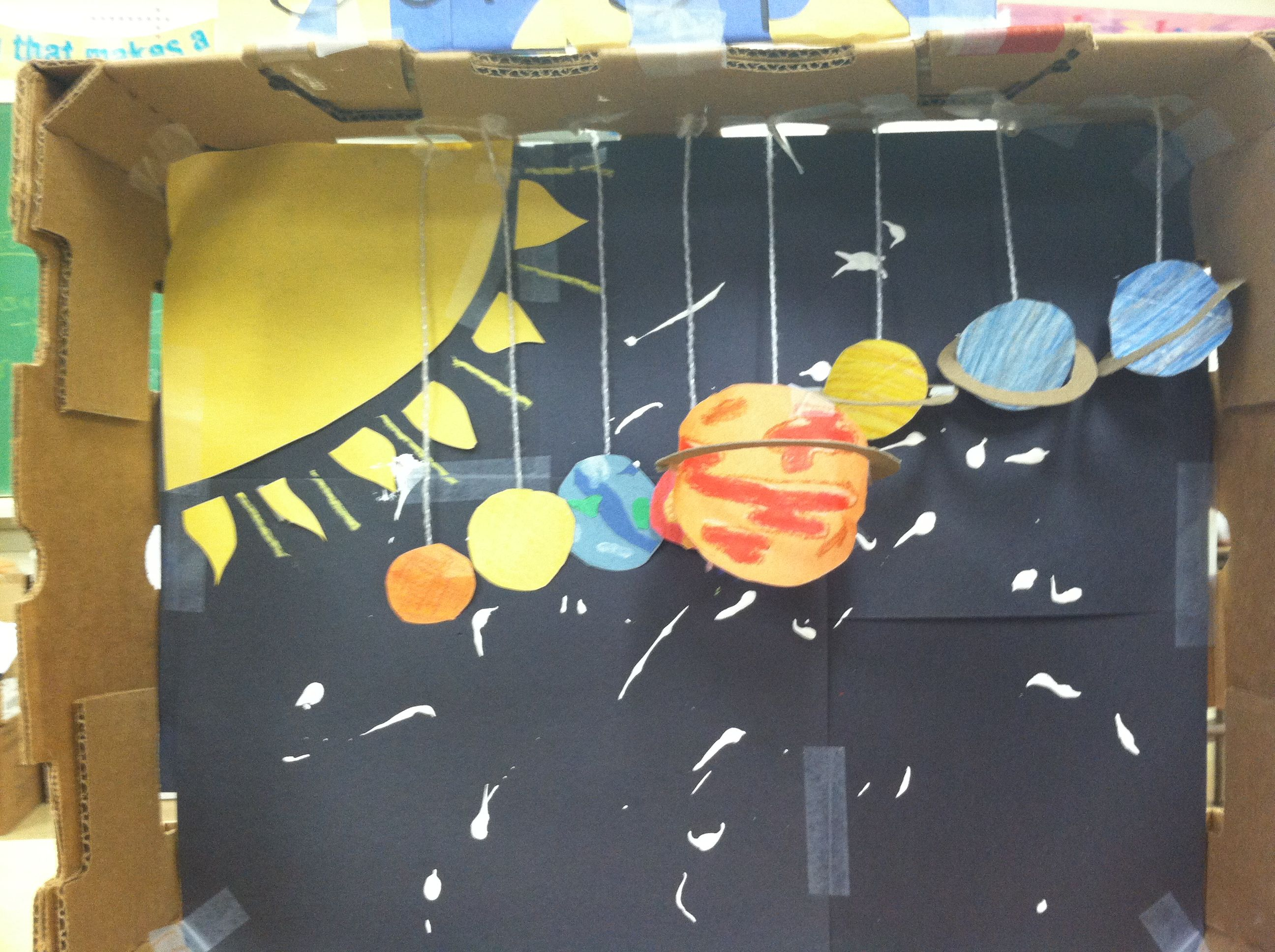 Solar System Project Rhtigertalk