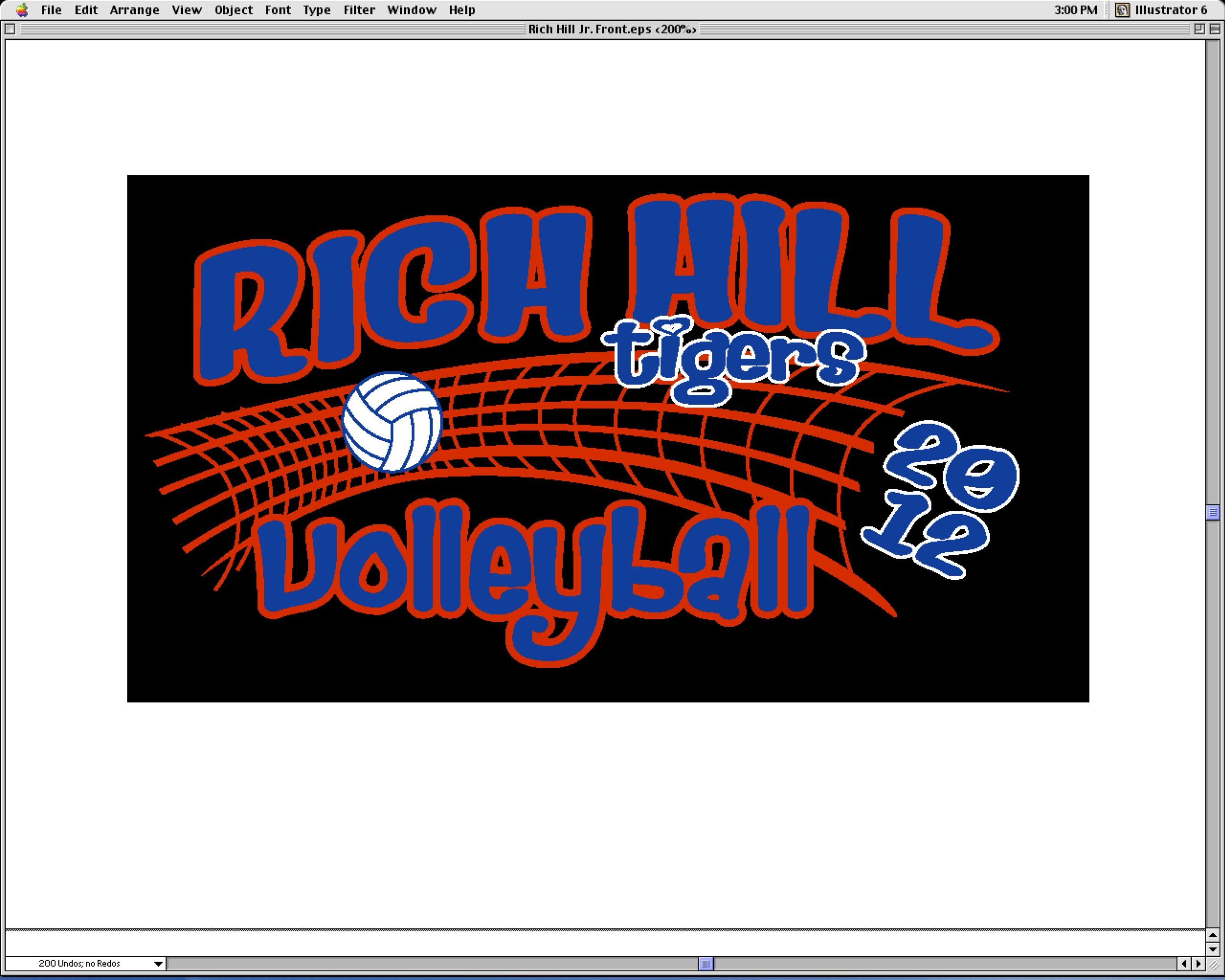 T shirt design volleyball - 2012 Volleyball T Shirt Design