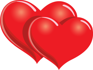 Two-red-hearts