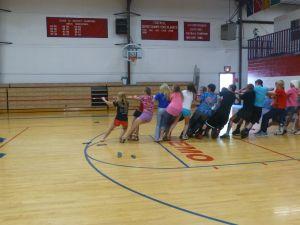 Sophomores pulling
