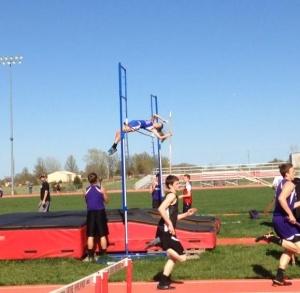 Jordan Wheatley Doing Pole Vault
