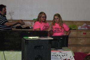 Katie and Hannah Karaoke