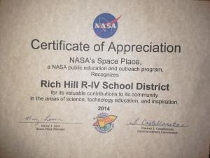 space race certificate