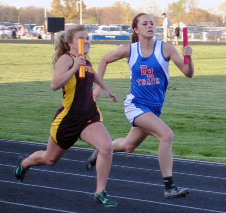Allison Taylor-4x100m relay