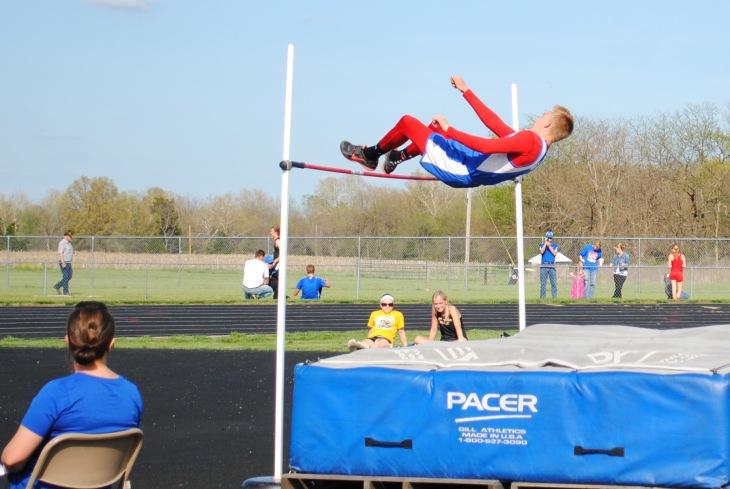 Bryant Courter-High Jump 2