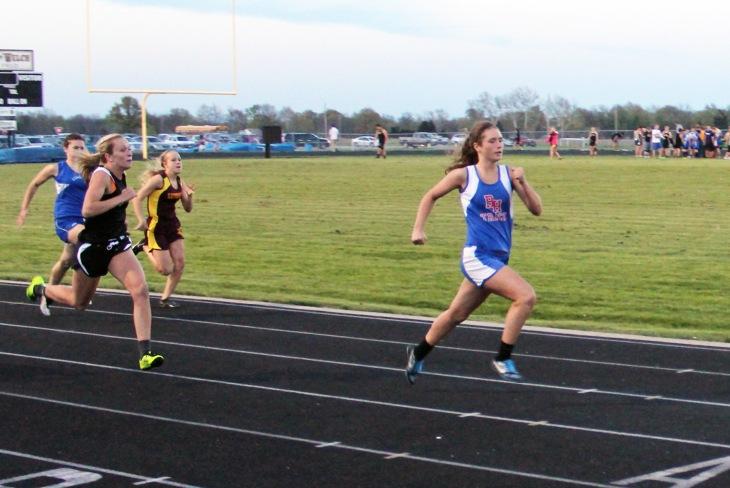 Jordann Wheatley-200m run