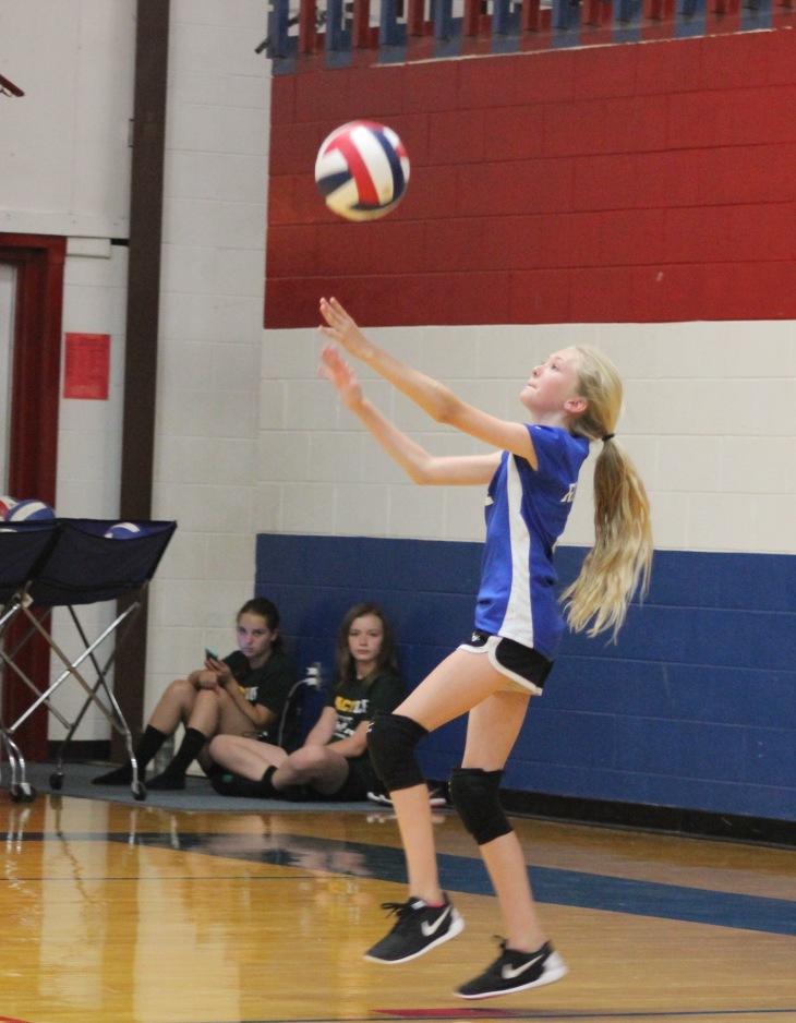 Madison Klinksick RH Volleyball vs. Lakeland