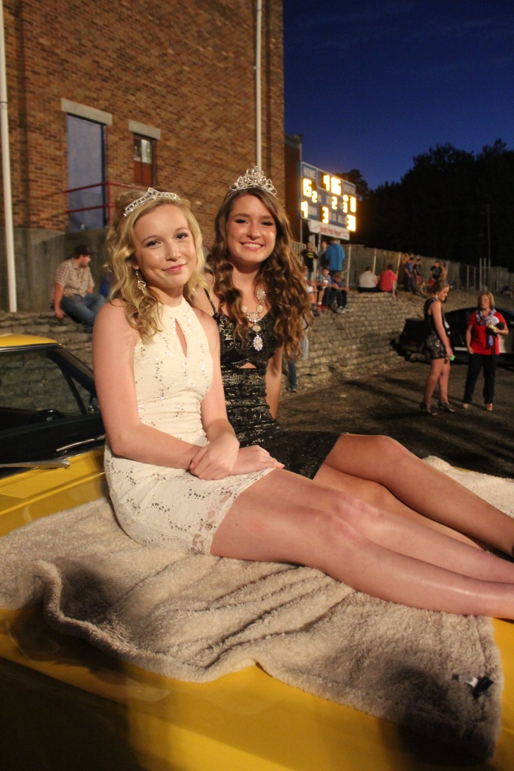 Retiring Princess and Queen - Mackenzie and Jordann Wheatley