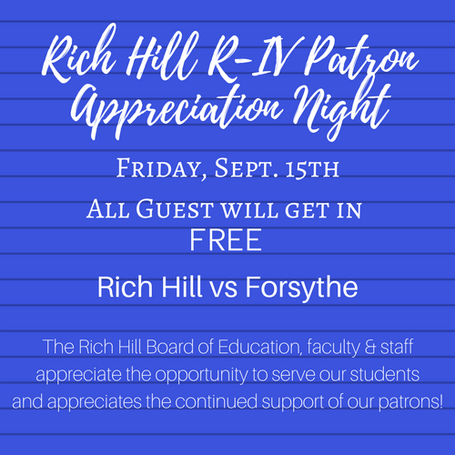 Rich Hill R-IV Patron Appreciation (1)